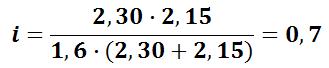 Расчёт индекса помещения