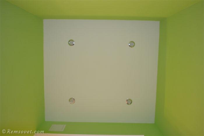 Светодиодные светильники в гардеробе