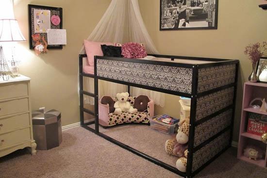 Дизайн и планировка интерьера комнаты для девочки