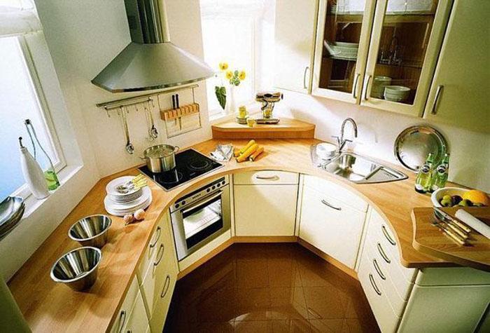 Планировка маленькой кухни: советы и примеры