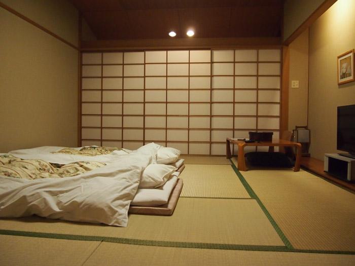 Дизайн спальни в японском стиле - фото №5