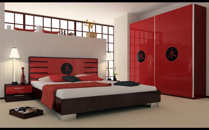Спальня в японском стиле - фото №1