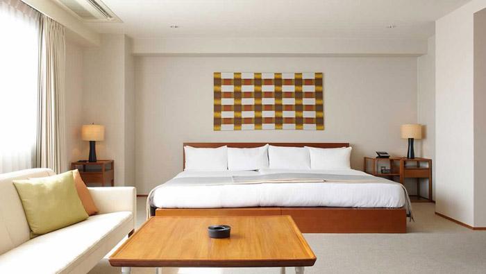 Дизайн спальни в японском стиле - фото №8