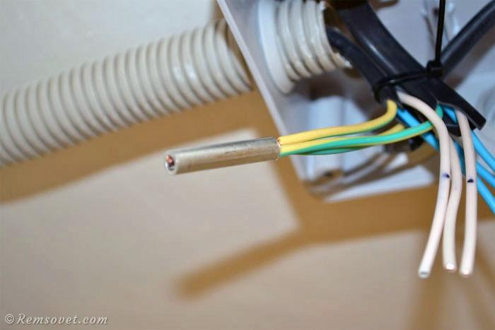 ГМЛ на жилах кабеля
