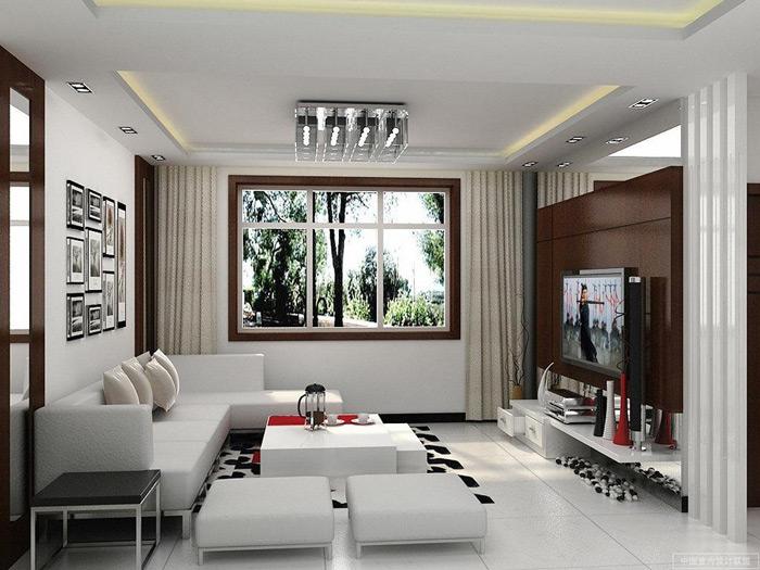 Невысокая мебель гарантированно увеличивает пространство в маленькой комнате