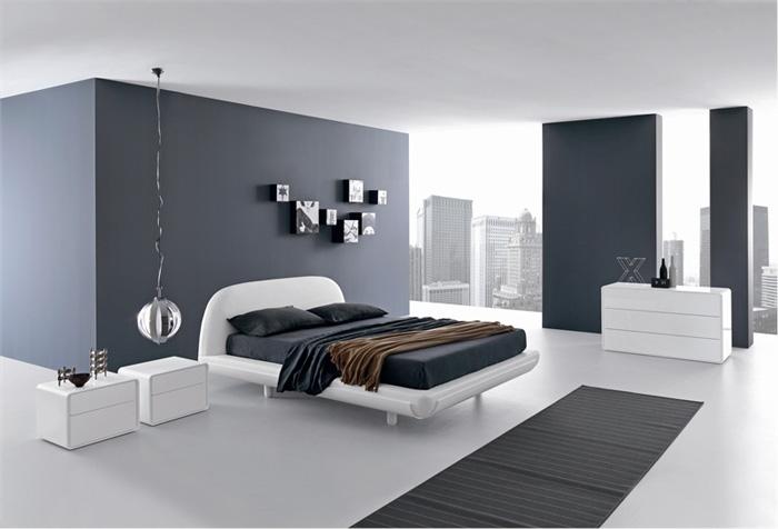 Серый оттенок в интерьере в стиле минимализм