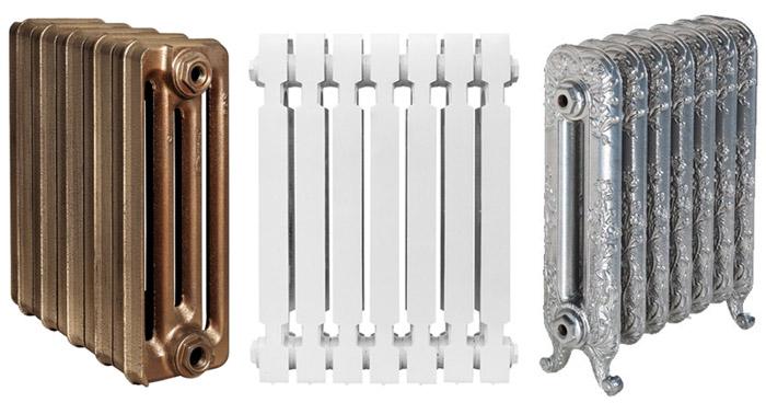 Чугунные радиаторы в современном дизайне