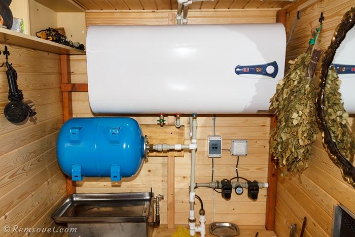 Накопительный водонагреватель в частном доме