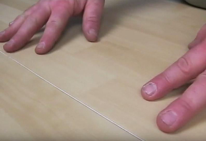 Холодная сварка линолеума: укладываем линолеум внахлёст