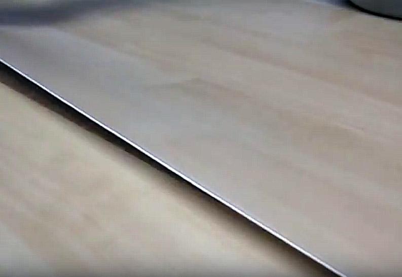 Холодная сварка, укладываем линолеум внахлёст