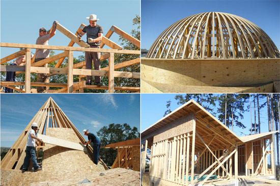 Основные виды крыш по конструкции