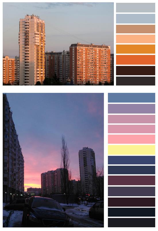 Создание цветовых палитр из фотографий