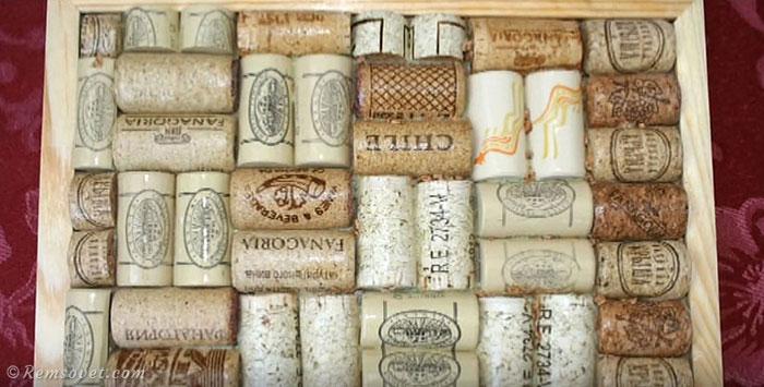 Мастер-класс по созданию панно из винных пробок