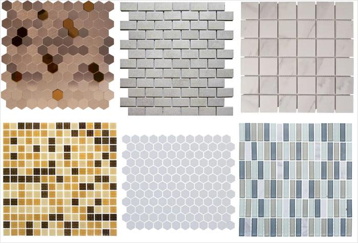 Несколько популярных видов мозаики для кухонного фартука