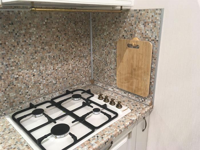 Кухонный фартук и столешница из МДФ
