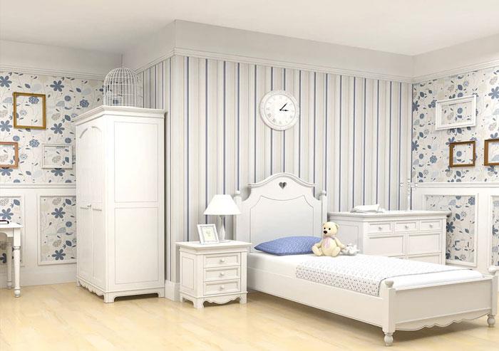 Сочетание разных обоев в спальне, комбинирование обоев