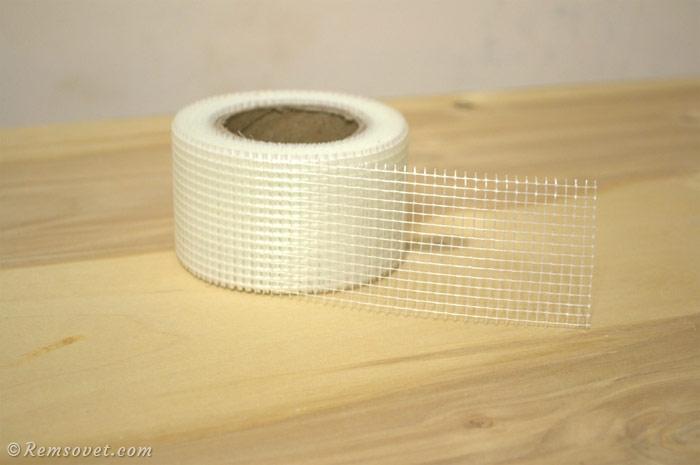 Армирующая лента - серпянка