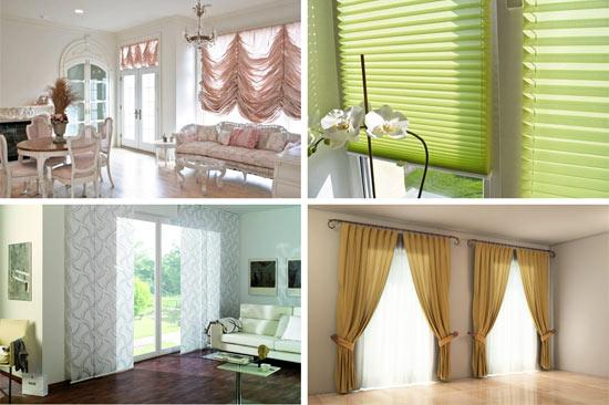 Как выбрать шторы в гостиную? 6 самых популярных видов