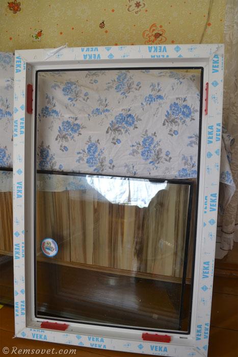Рама пластикового окна
